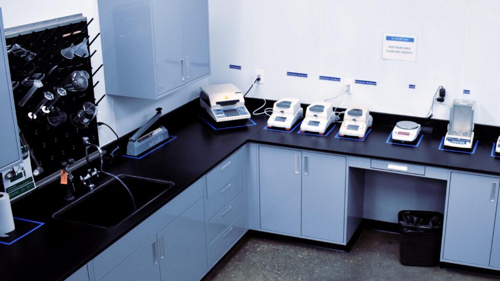 CPEG Test Lab Moisture